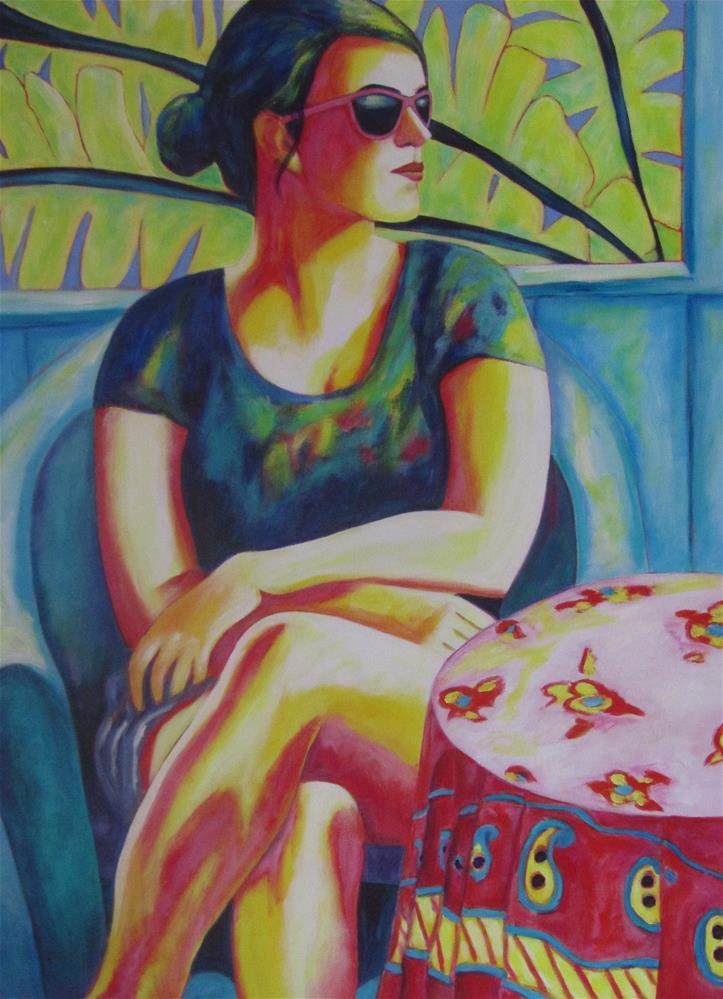 """Daughter"" original fine art by Patricia MacDonald"