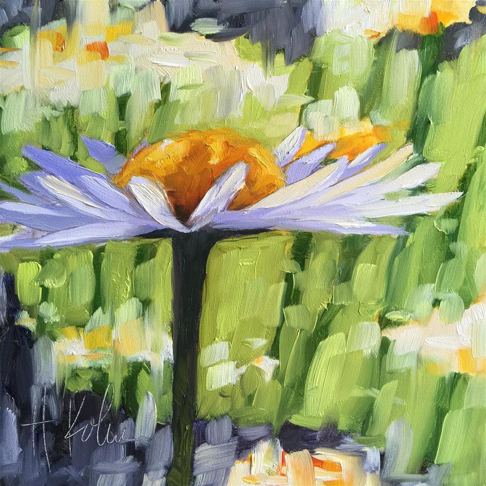 """Daisy"" original fine art by Hallie Kohn"