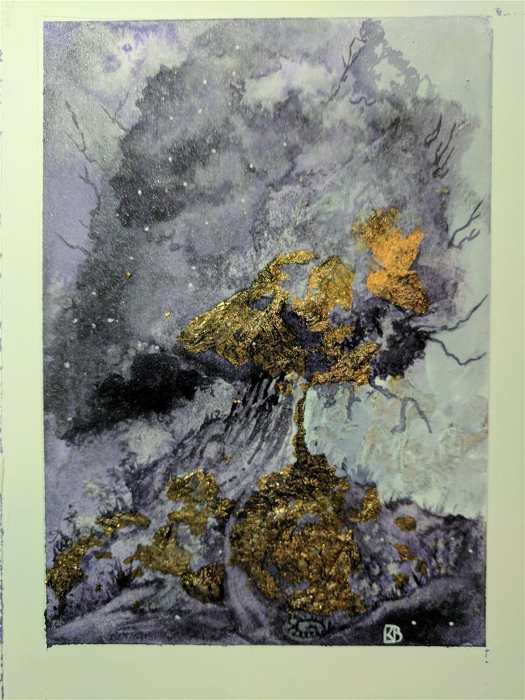 """Spiral of life"" original fine art by Kathleen Barnes"