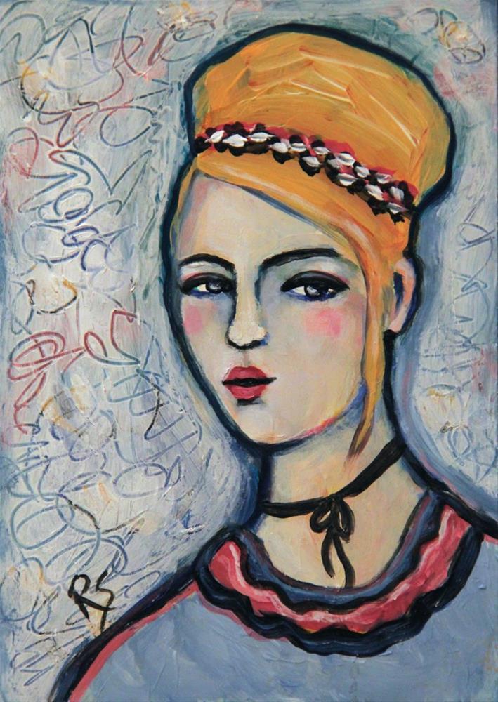 """""""Bella"""" original fine art by Roberta Schmidt ArtcyLucy"""