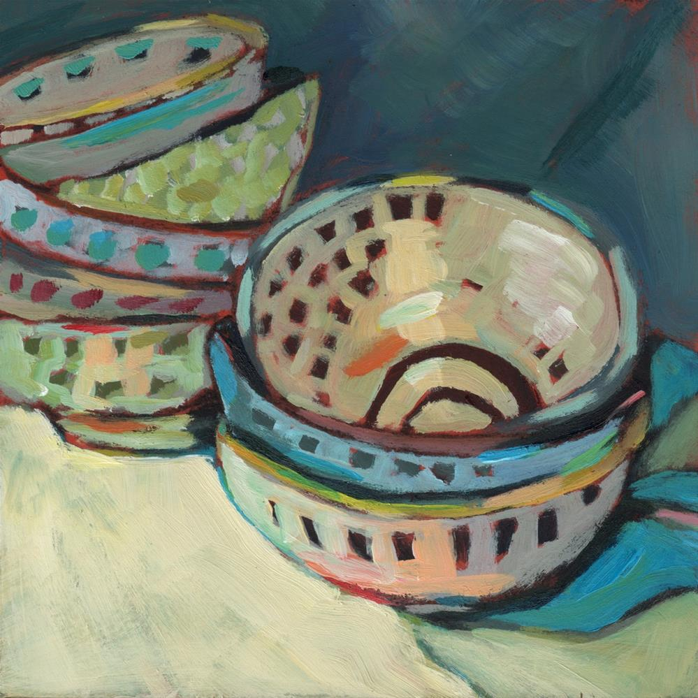 """""""All About the Bowls (#363)"""" original fine art by Brian Miller"""