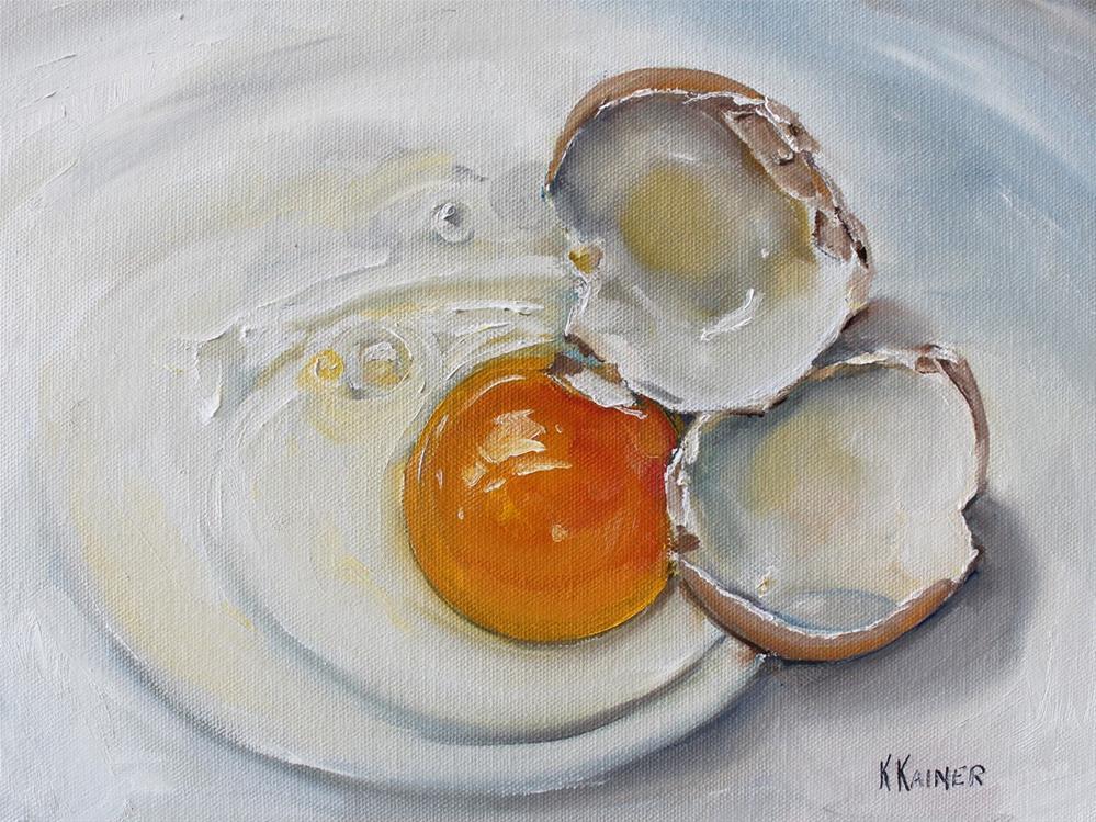 """Free at Last"" original fine art by Kristine Kainer"