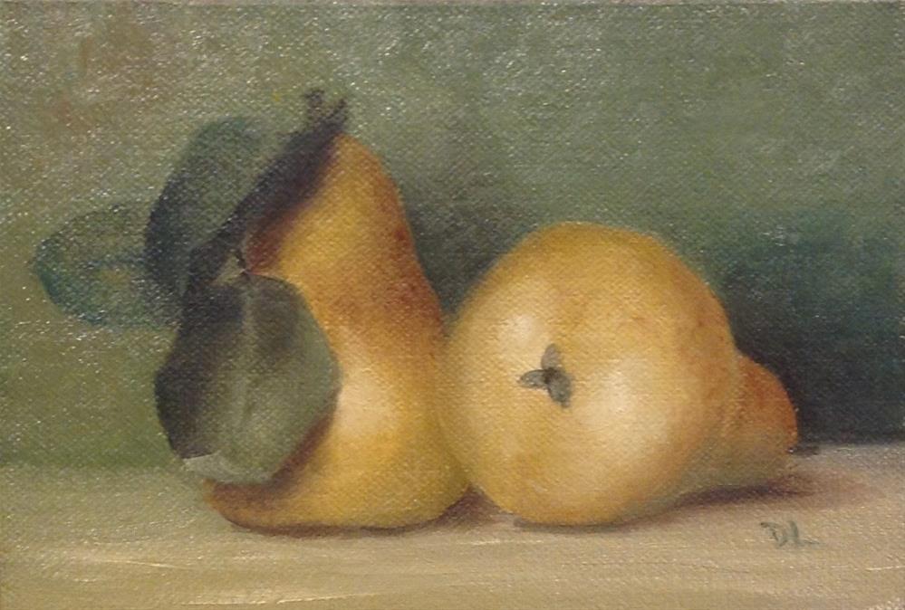 """Quite a Pare! #1505"" original fine art by Dee Lessard"