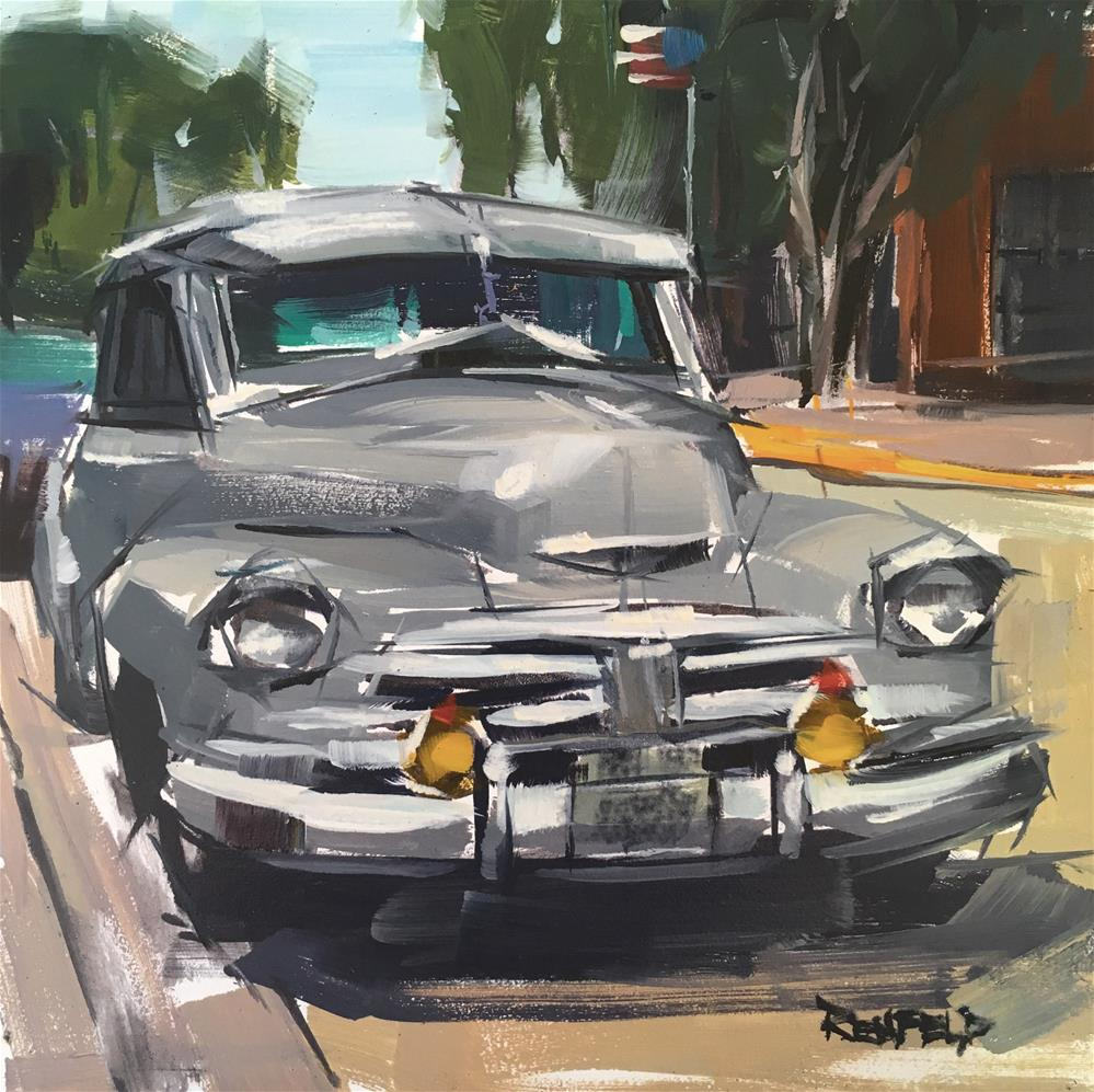 """Fleetmaster"" original fine art by Cathleen Rehfeld"