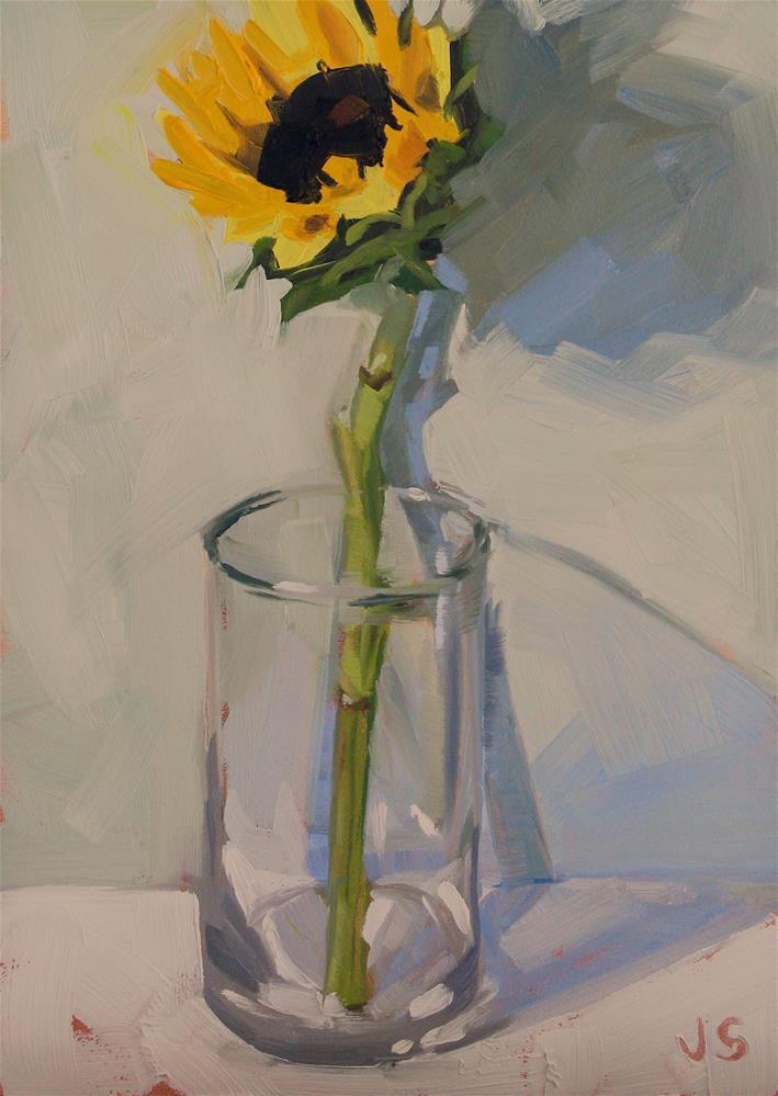 """Standing Tall"" original fine art by Jamie Stevens"