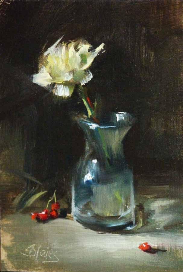 """""""Lucky in Love"""" original fine art by Pamela Blaies"""