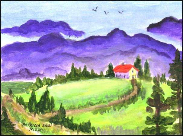 """""""Storm Coming"""" original fine art by Patricia Ann Rizzo"""