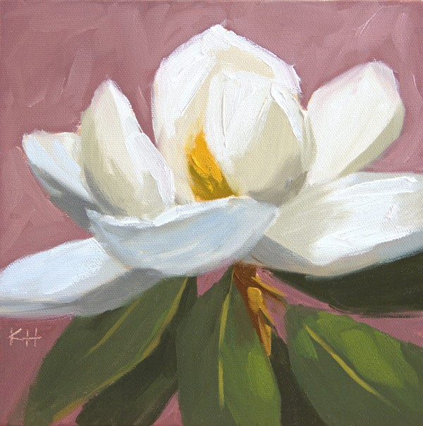 """Southern Belle"" original fine art by Kerry Hastings Hogan"
