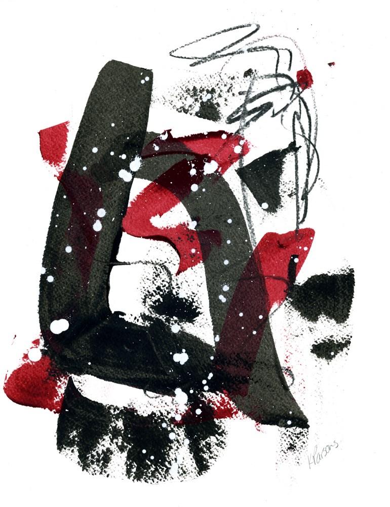 """The Brightness Shone Through"" original fine art by Kali Parsons"