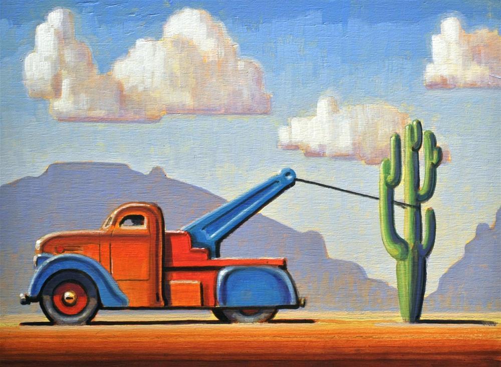 """Lasso"" original fine art by Robert LaDuke"