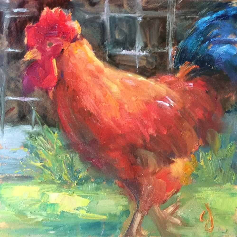 """Big Mo"" original fine art by Carol Josefiak"