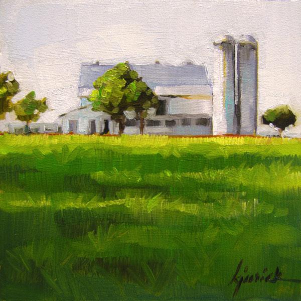 """On The Road #1"" original fine art by Karin Jurick"