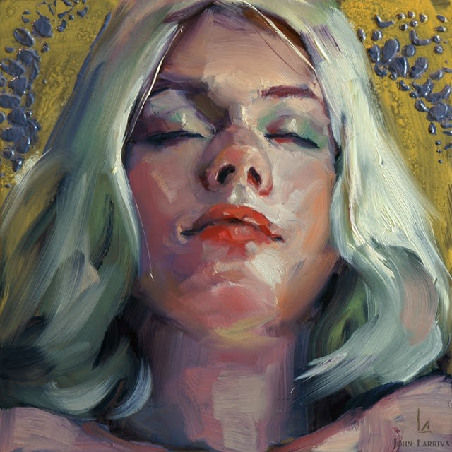 """""""Ecstasy"""" original fine art by John Larriva"""