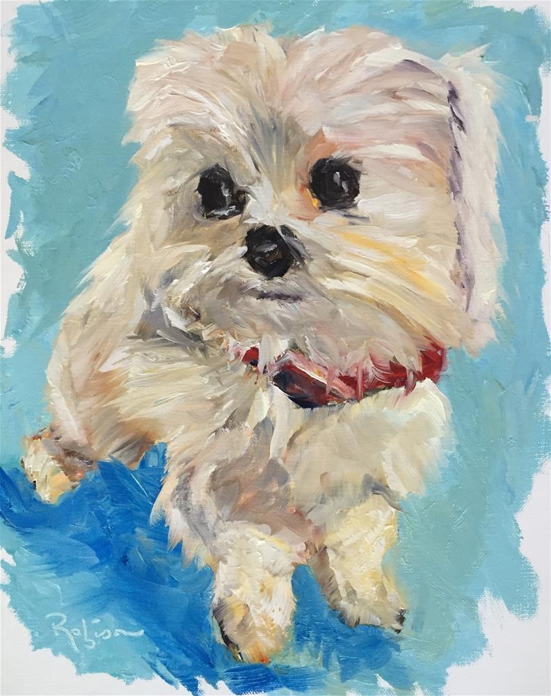 """""""Sweet Eyes"""" original fine art by Renee Robison"""
