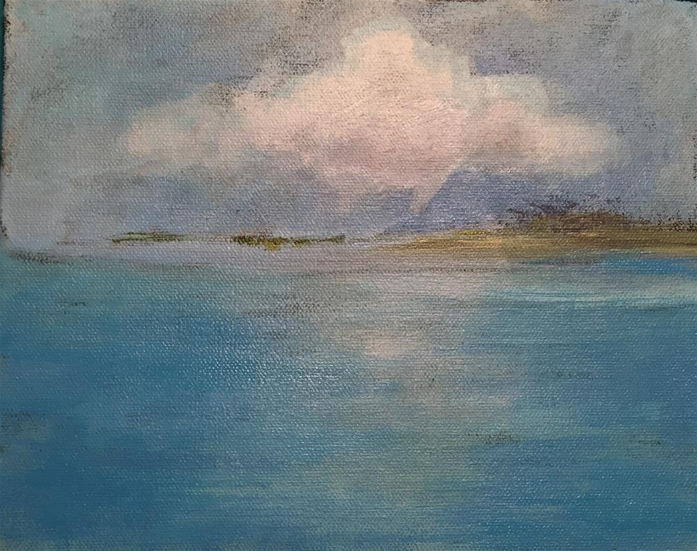 """On the Water"" original fine art by Bonnie Masdeu"