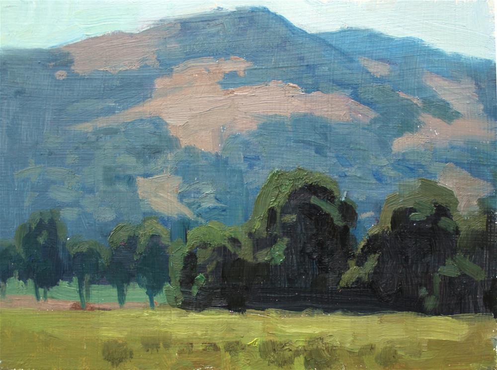"""""""Sculpted Trees"""" original fine art by Kristian Matthews"""