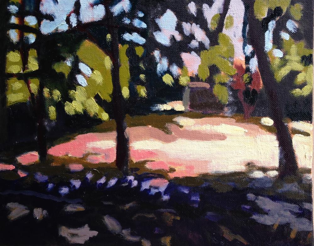 """Summertime"" original fine art by Pamela Hoffmeister"
