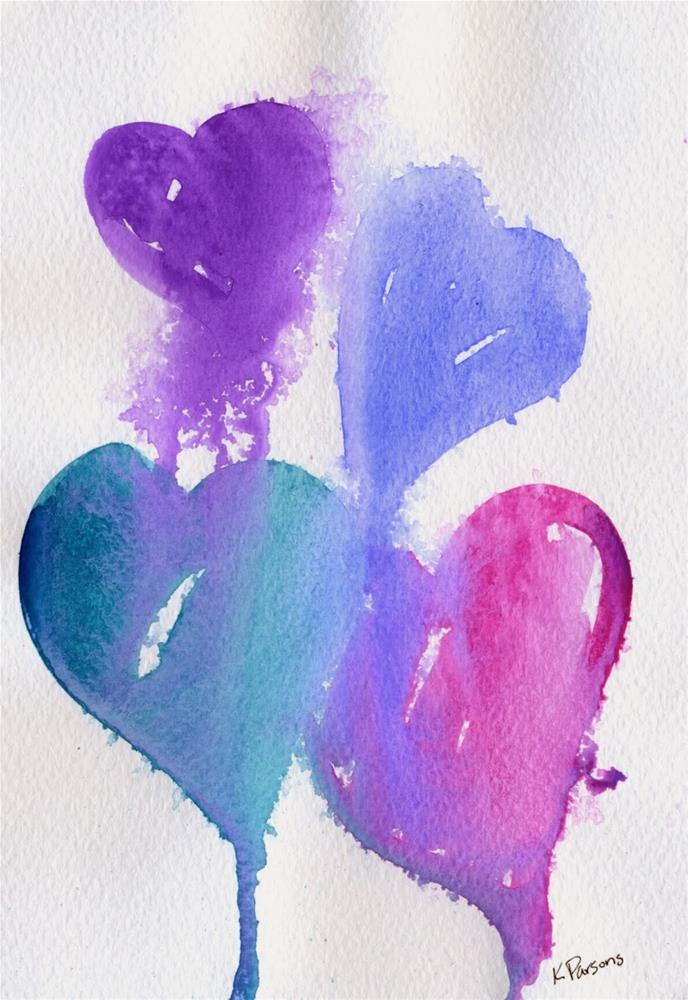 """""""Young at Heart"""" original fine art by Kali Parsons"""