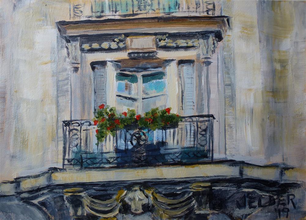 """Paris No. 115"" original fine art by Judith Elder"