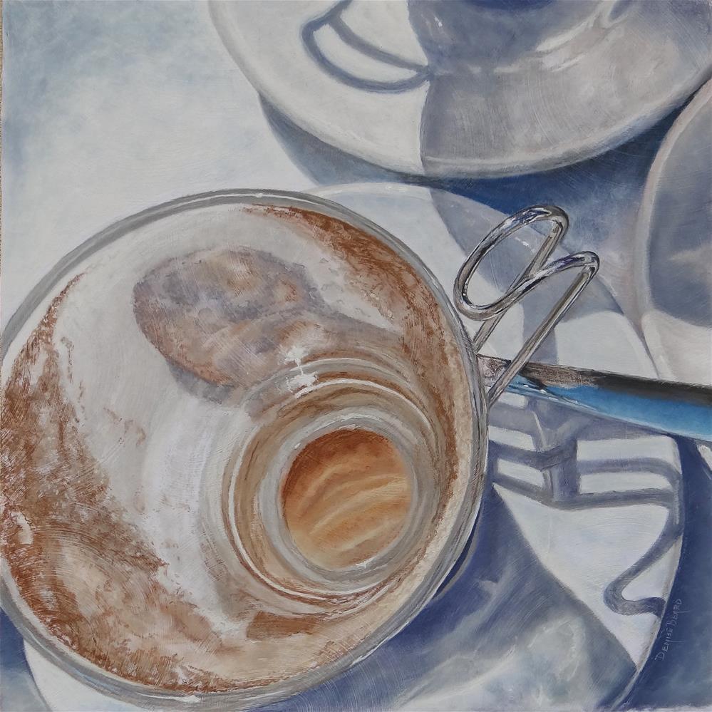 """Caffe' Italiano"" original fine art by Denise Beard"