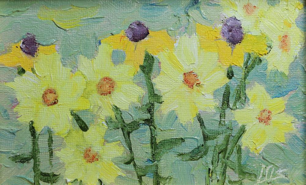 """Brighten My Day"" original fine art by Michael Saunders"