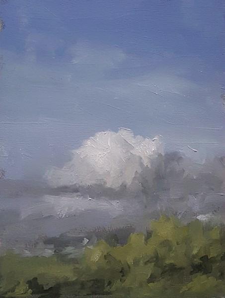 """Window View #1"" original fine art by Neil Carroll"