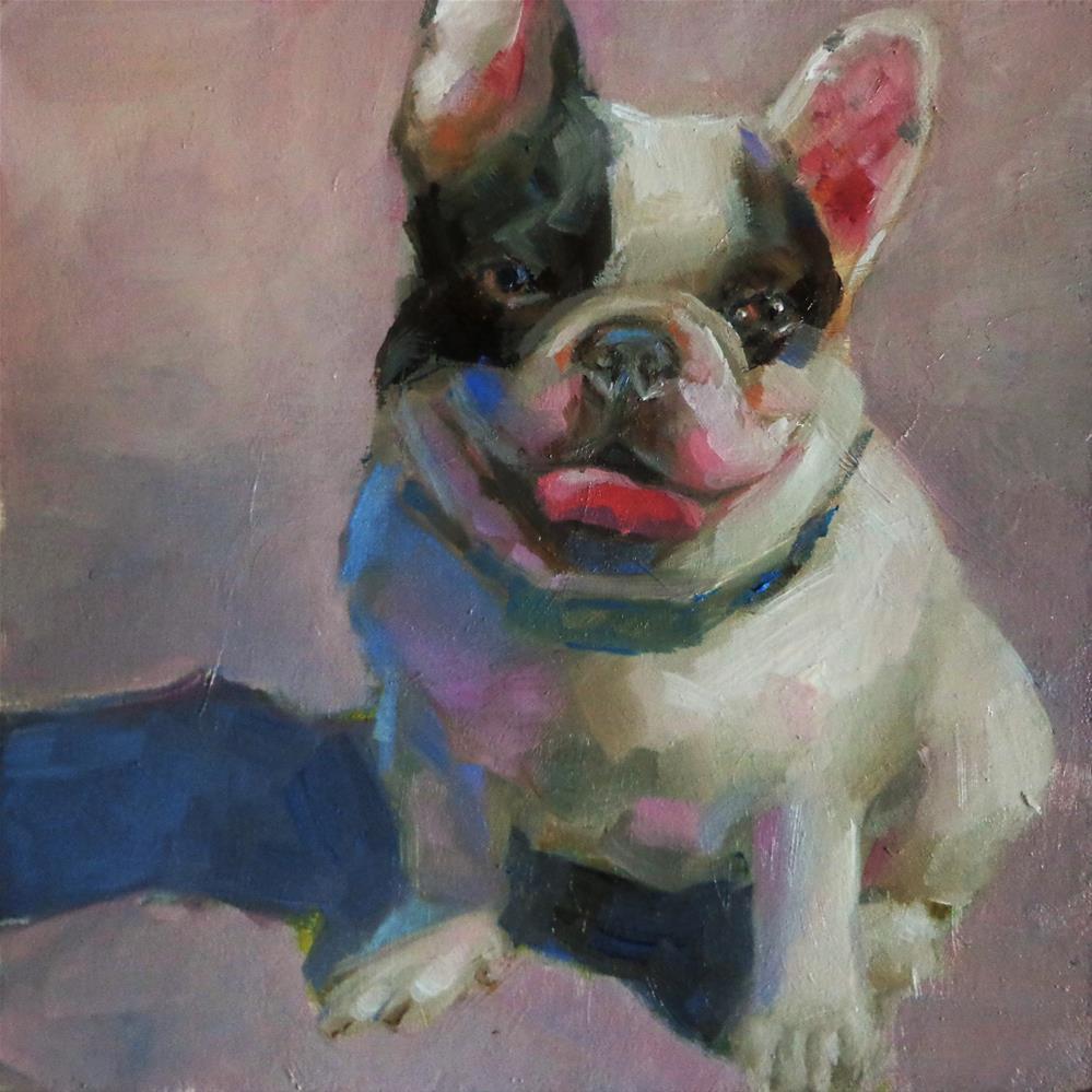 """Best friend"" original fine art by Maria Z."