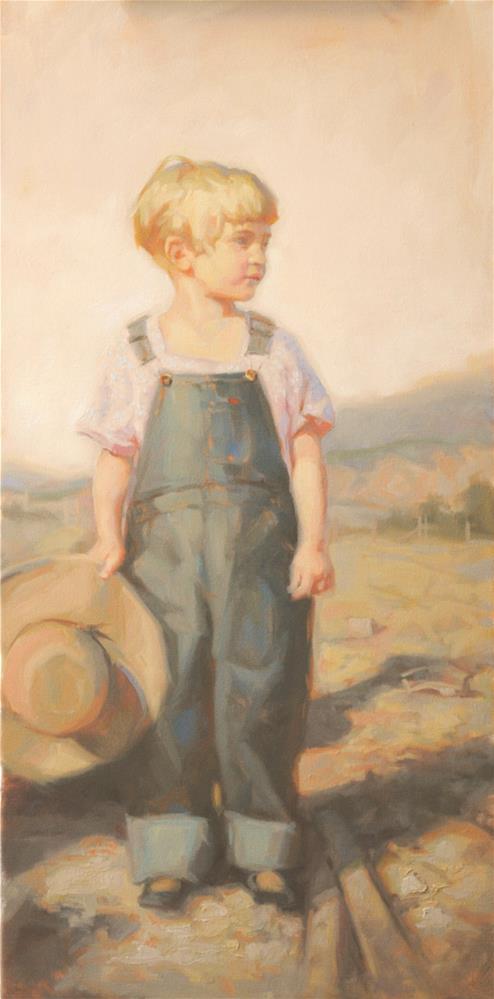 """""""Summer Memories"""" original fine art by Cecile W. Morgan"""