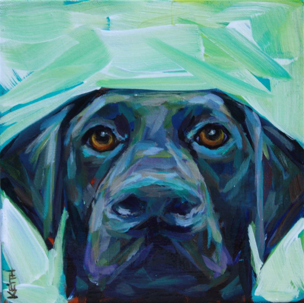 """Baby Blue"" original fine art by Kandice Keith"