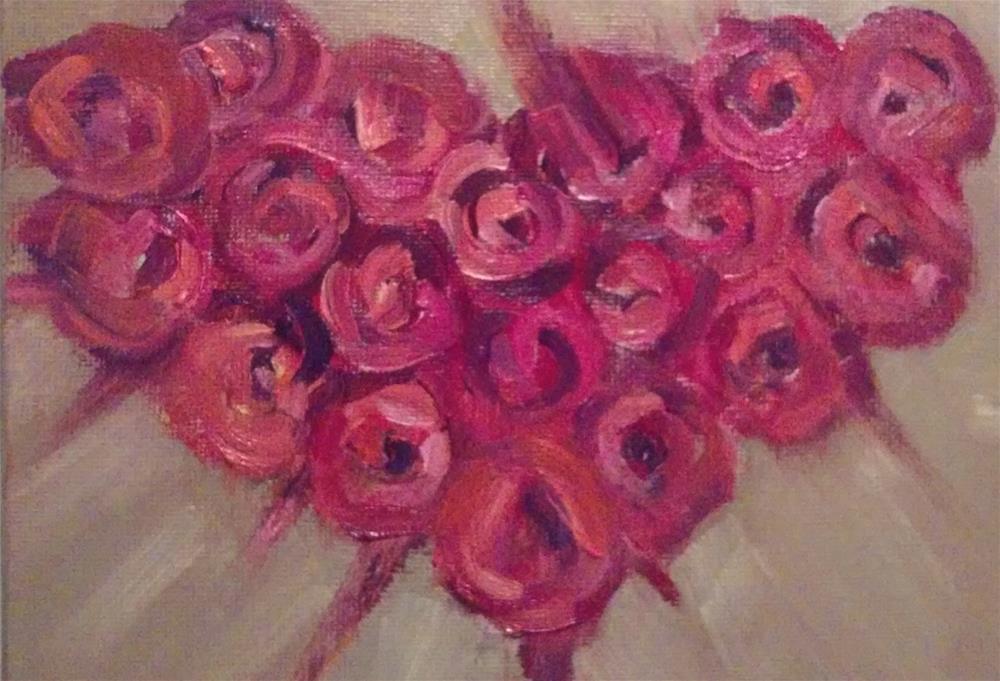 """""""Sweet Heart"""" original fine art by Gerri Obrecht"""