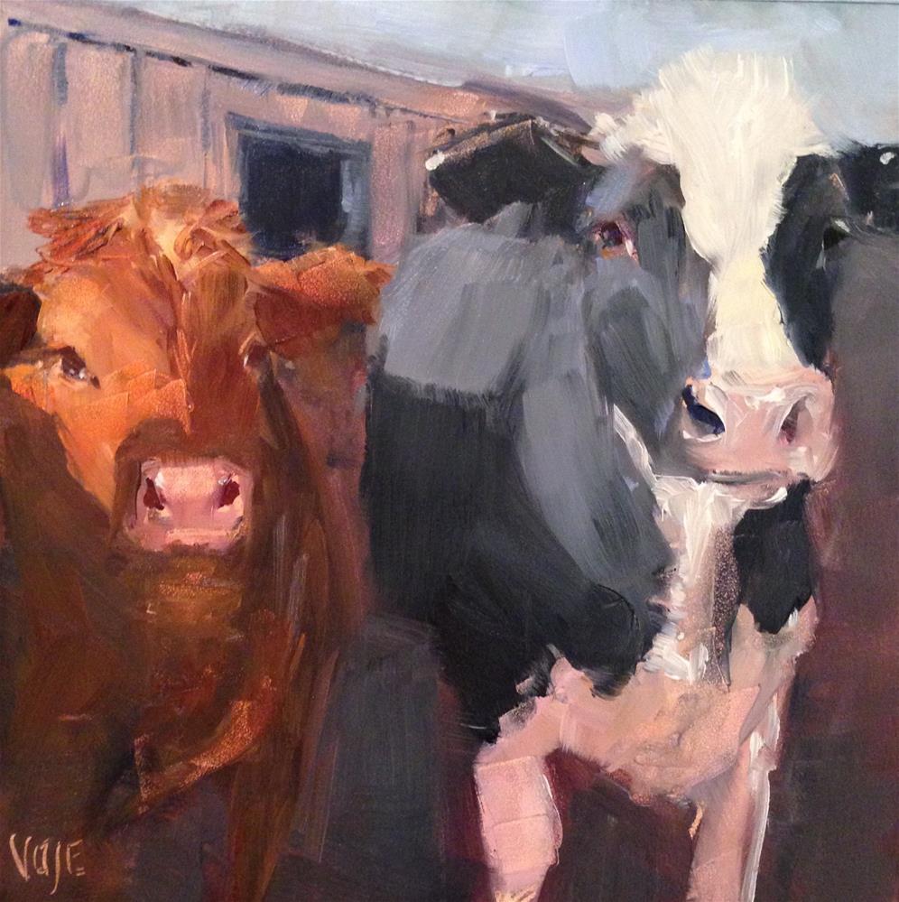 """""""#72 BFF's"""" original fine art by Patty Voje"""