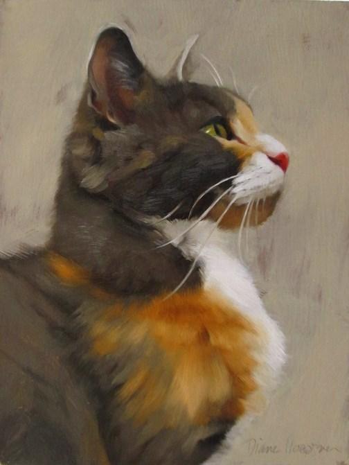 """""""Tom"""" original fine art by Diane Hoeptner"""