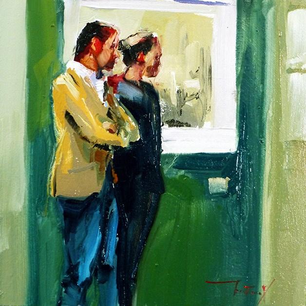"""""""Gallery"""" original fine art by Jurij Frey"""