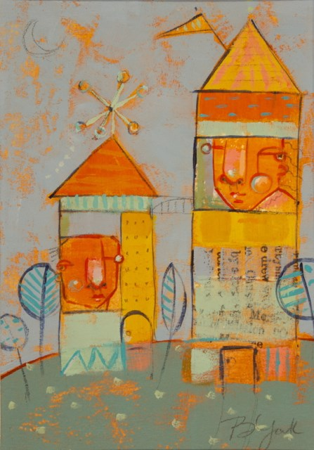 """Home Bodies"" original fine art by Brenda York"