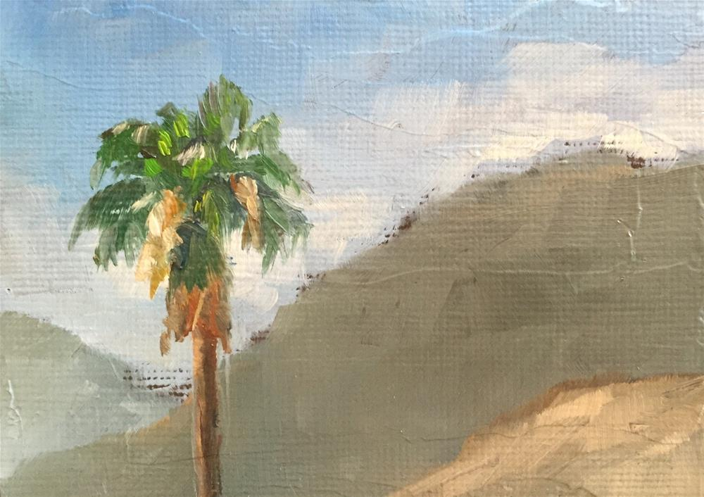 """Palm Springs, South View"" original fine art by Gary Bruton"