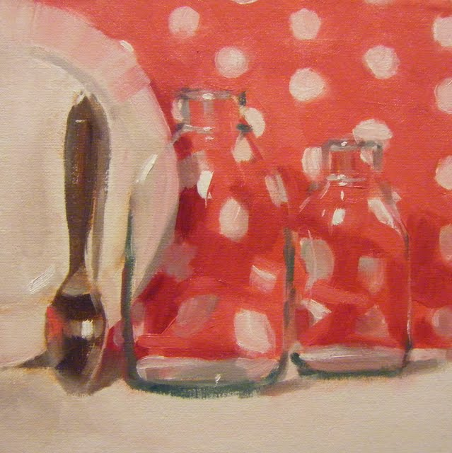 """""""DOTTY DOTS"""" original fine art by Helen Cooper"""