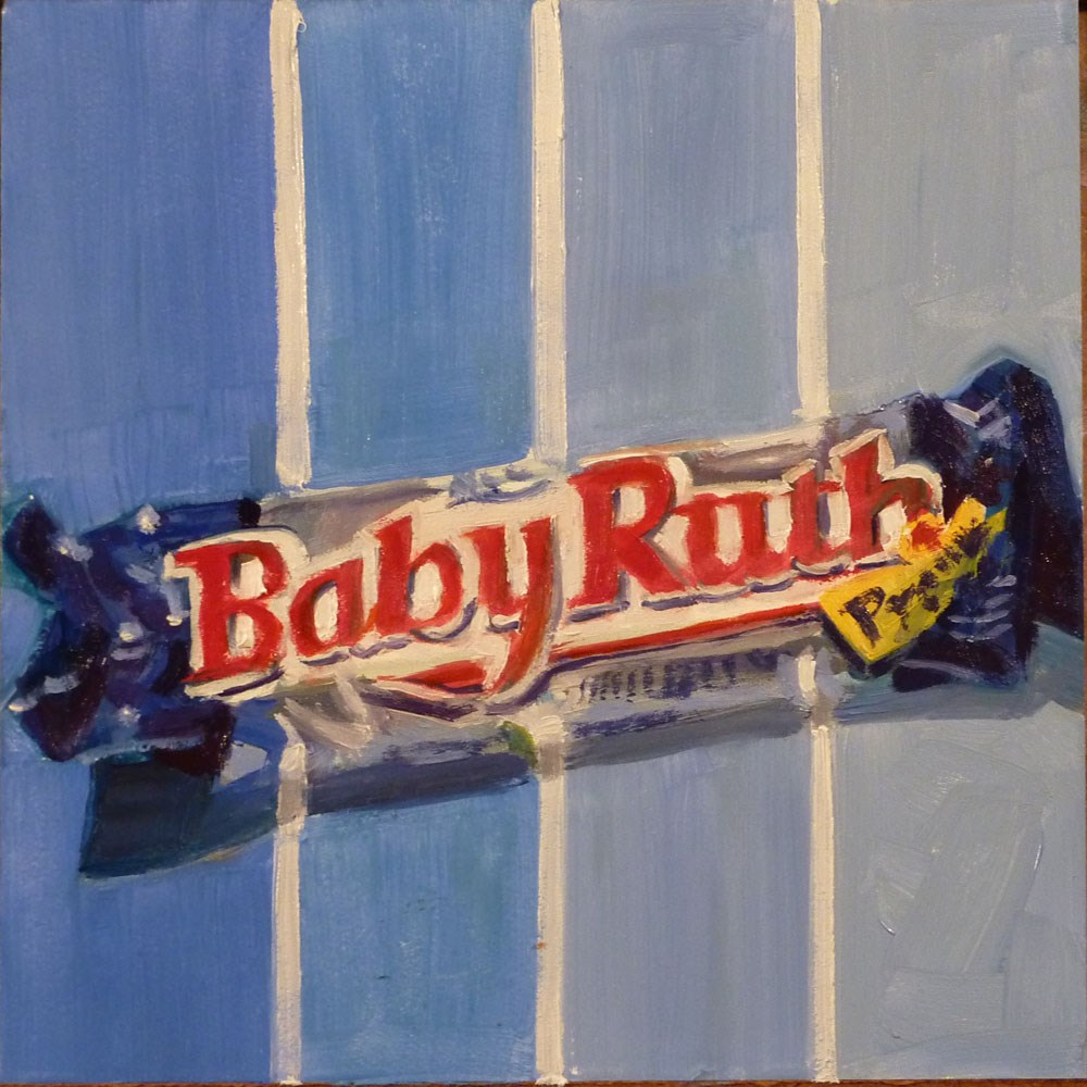 """""""Baby Ruth Candy Bar"""" original fine art by Mary Pyche"""