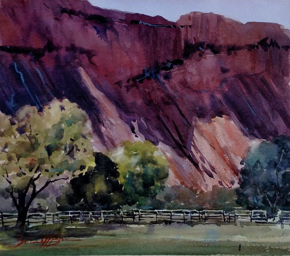 """""""Holland's Fields"""" original fine art by Brienne M Brown"""