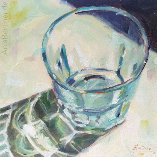 """353 Glas"" original fine art by Anja Berliner"