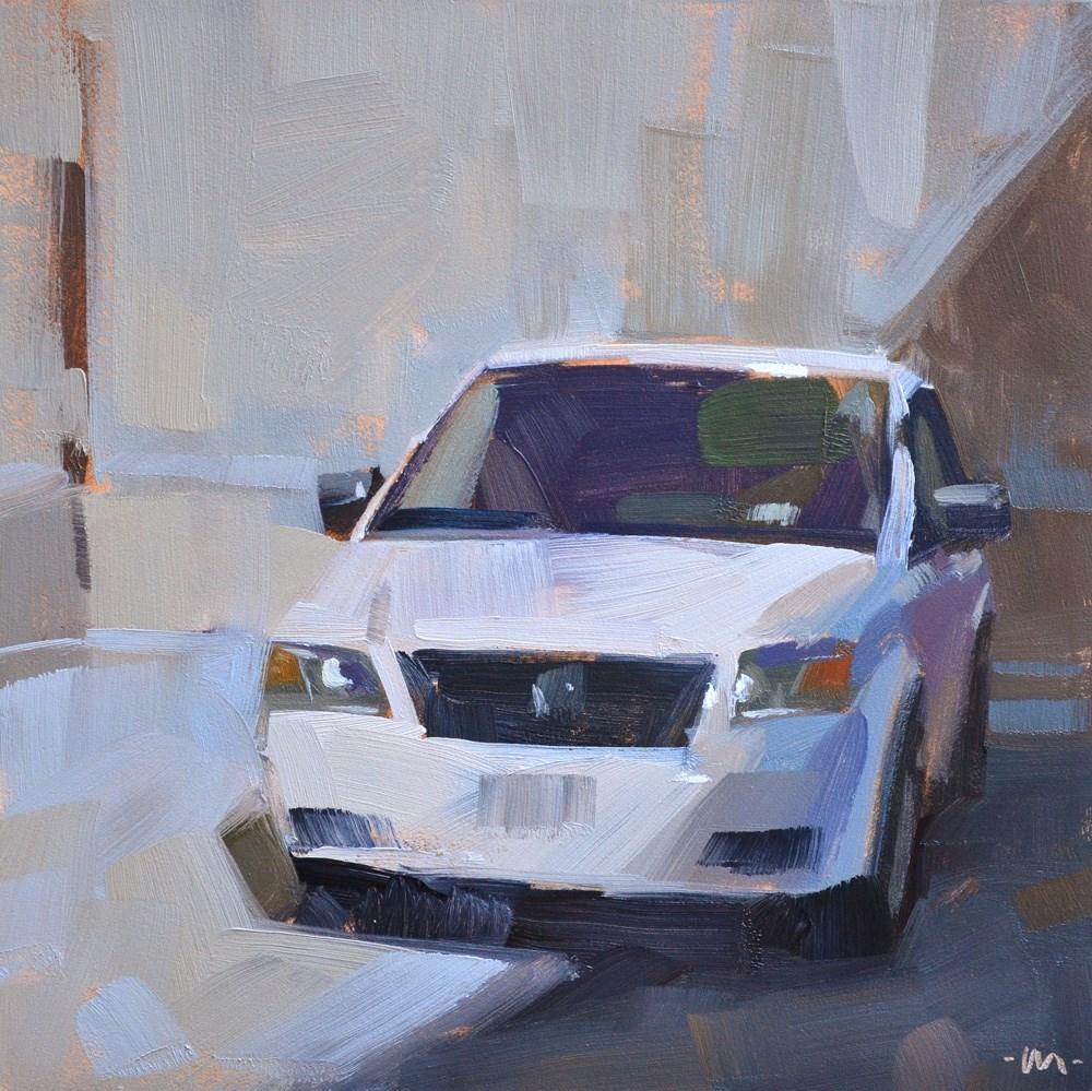 """""""Tippy Top Garage"""" original fine art by Carol Marine"""