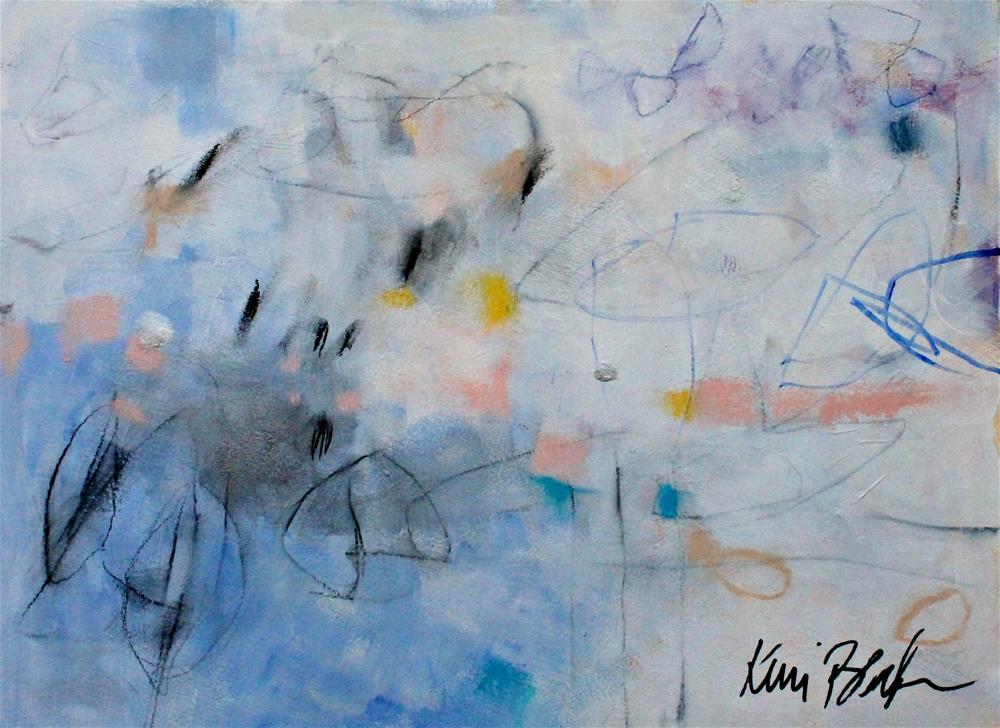 """""""Keep it Moving """" original fine art by Kerri Blackman"""