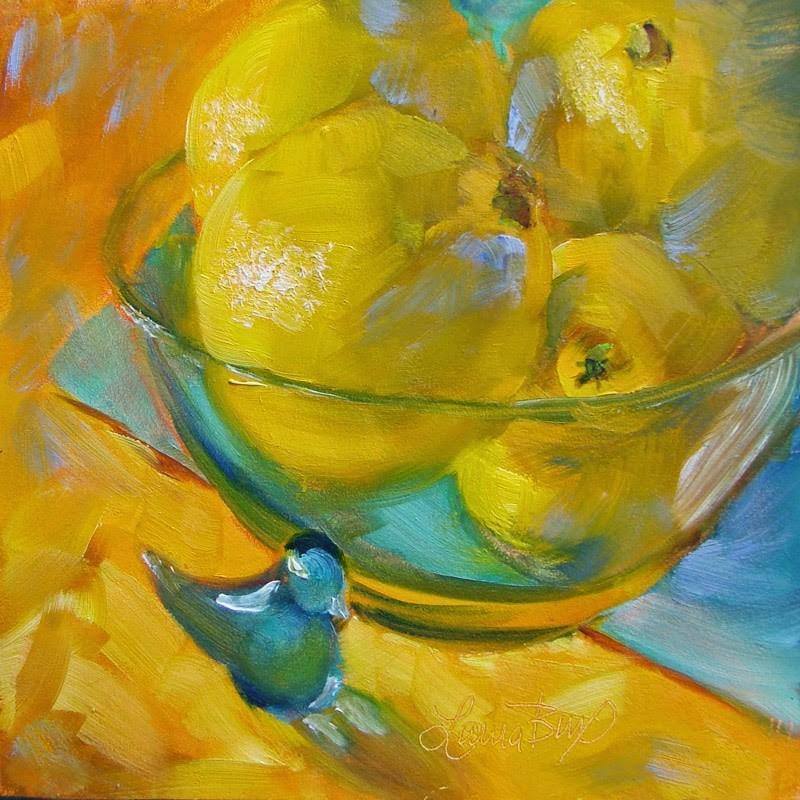 """Bowl Full 141"" original fine art by Laura  Buxo"