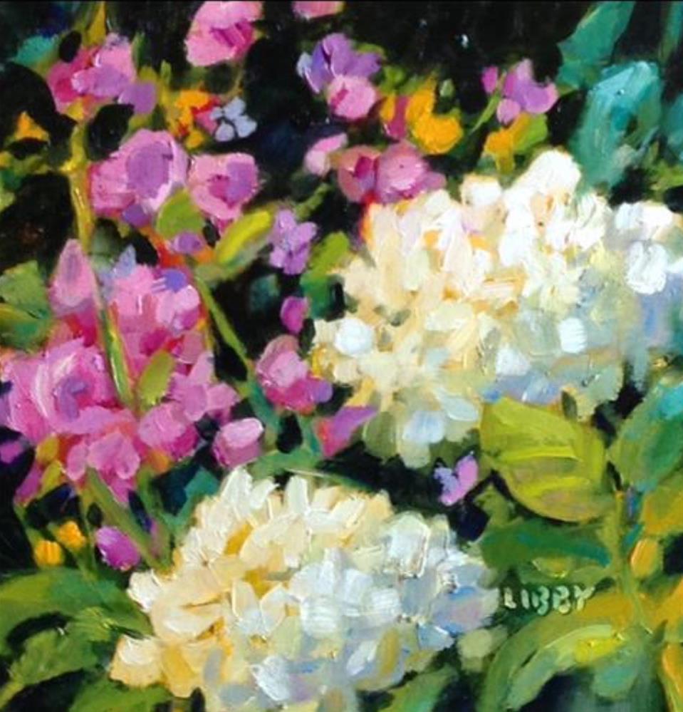 """""""Lovejoy"""" original fine art by Libby Anderson"""