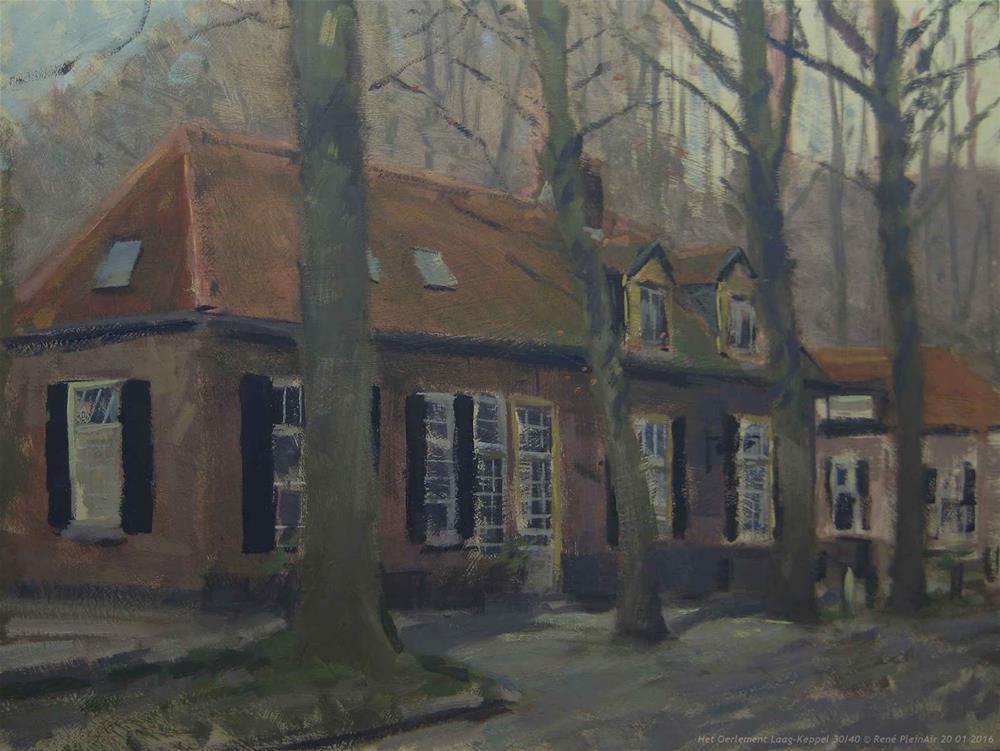 """Het Oerlement Laag-Keppel The Netherlands"" original fine art by René PleinAir"