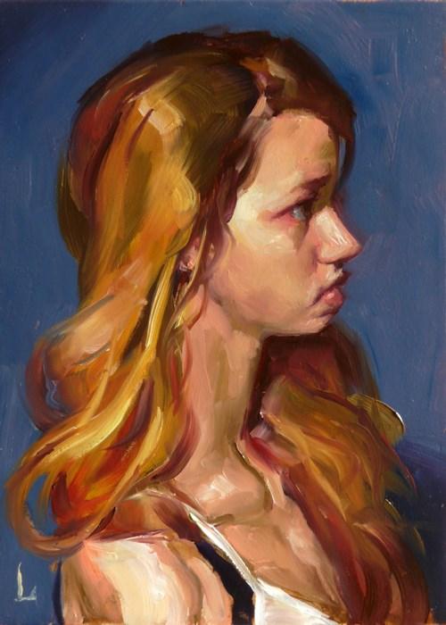 """""""Dusk"""" original fine art by John Larriva"""