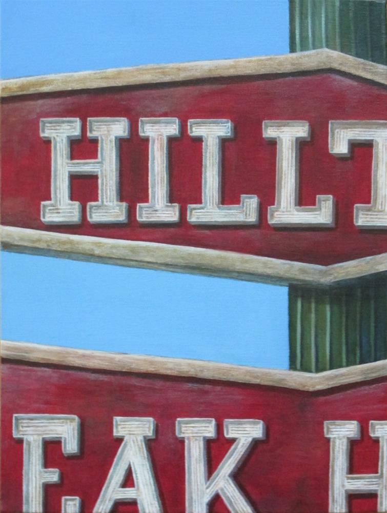 """Hilltop"" original fine art by Debbie Shirley"