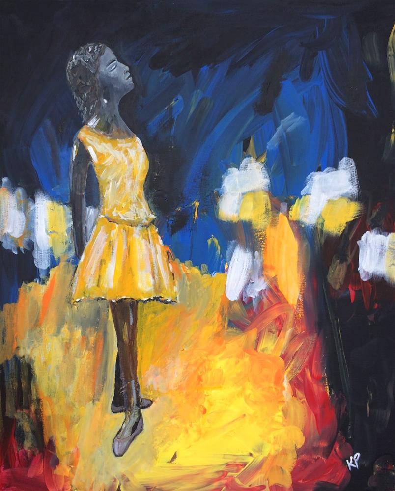 """She will Dance"" original fine art by Kali Parsons"