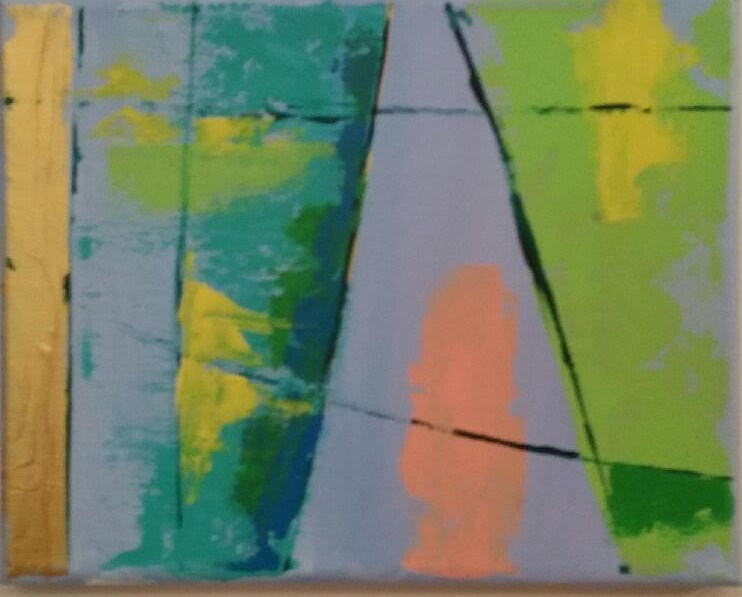 """Sailing"" original fine art by Stuart Glazer"