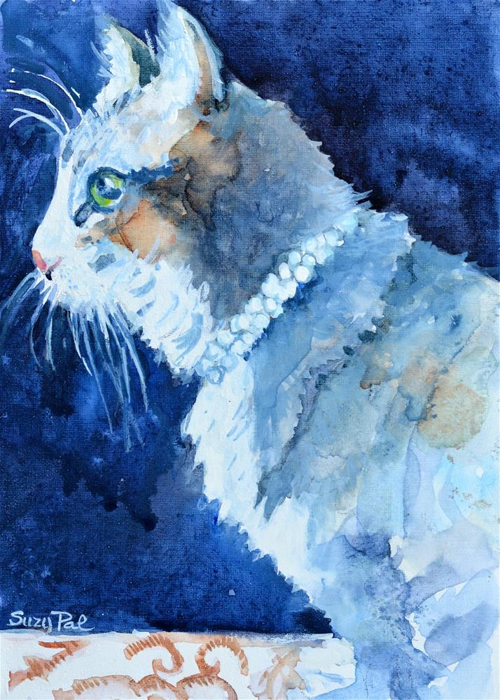 """Savannah"" original fine art by Suzy 'Pal' Powell"