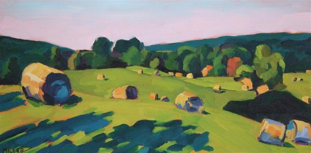 """""""Hidden Field"""" original fine art by Jessica Miller"""